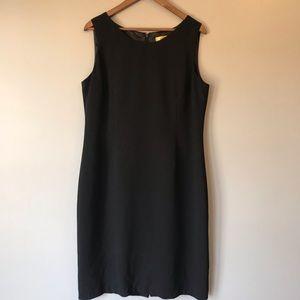 Black career dress size 16
